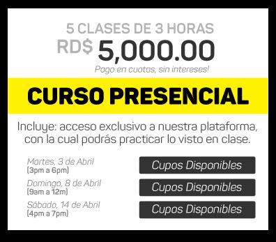 Curso de Photoshop en Santo Domingo